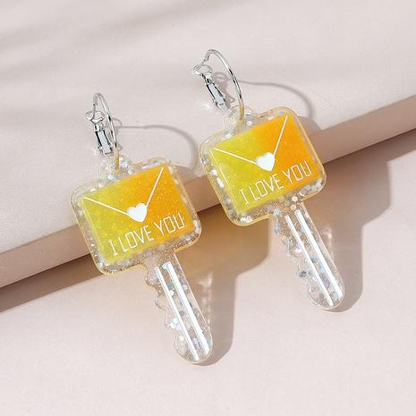 Korean fashion creative wild key earrings NHPS309705's discount tags