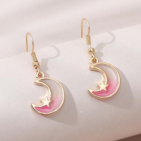 fashion sweet little moon earrings NHPS309708's discount tags
