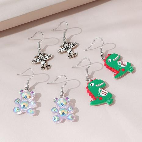dulce juego de aretes creativos lindos salvajes NHPS309714's discount tags