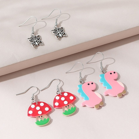 fashion sweet lovely earring set NHPS309715's discount tags