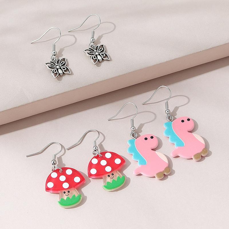 fashion sweet lovely earring set NHPS309715