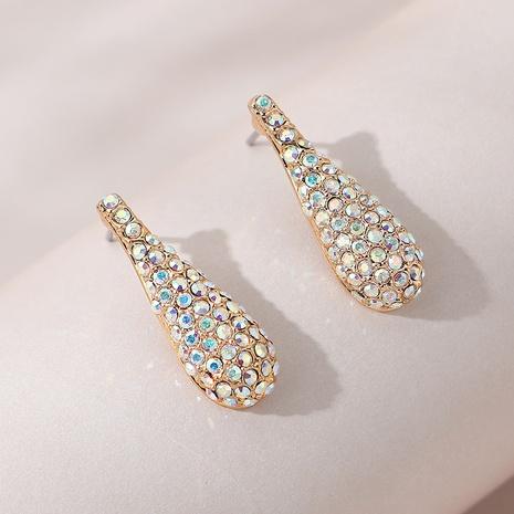 Korean fashion diamonds earrings NHPS309717's discount tags