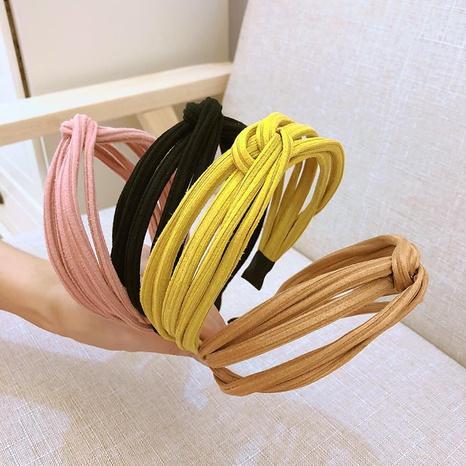 wide-brimmed fashion headband NHAQ309810's discount tags