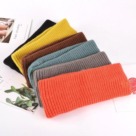 Korea's fashion knitted headband NHAQ309817's discount tags
