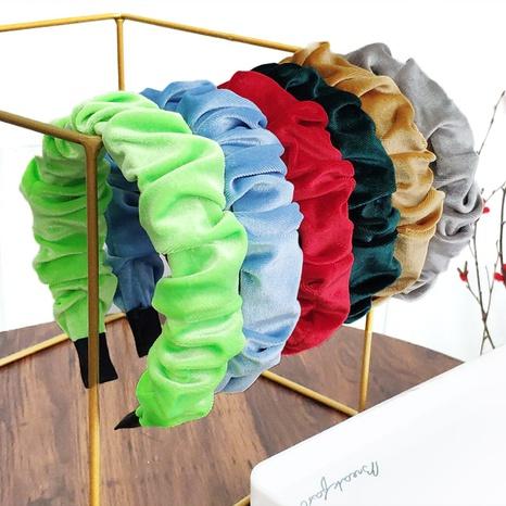 fashion retro velvet headband  NHAQ309823's discount tags