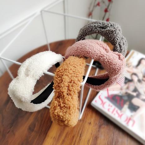 Plüsch modisches Stirnband mit breiter Krempe NHAQ309835's discount tags