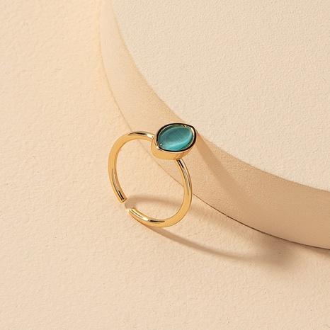 fashion gemstone open ring  NHGU309838's discount tags