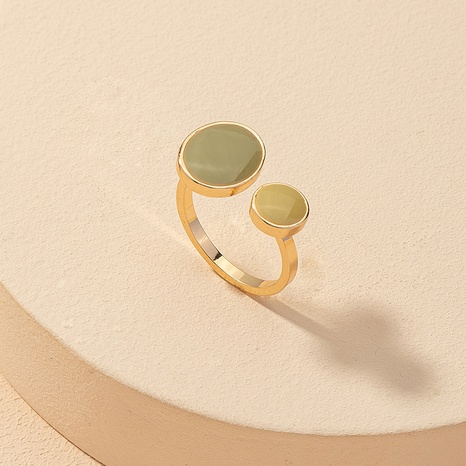 fashion color matching opening ring  NHGU309866's discount tags