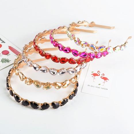 fashion rhinestone fine headband NHAQ309872's discount tags
