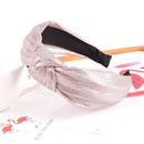 bright silk knotted widebrimmed fashion headband  NHAQ309874