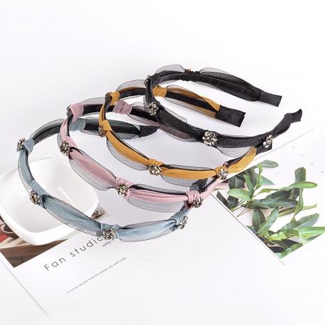 net yarn fashion fine rhinestone headband  NHAQ309877's discount tags