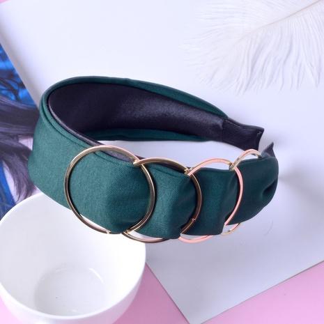 Korean simple solid color headband NHAQ309898's discount tags