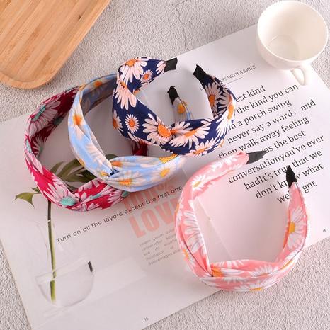 Koreanisches neues Gänseblümchen geknotetes Stirnband NHAQ310101's discount tags