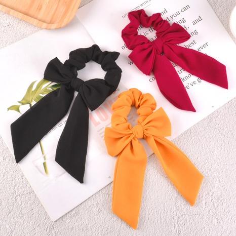 Scrunchies florales coreanos del pelo del lazo de la gasa NHAQ310152's discount tags
