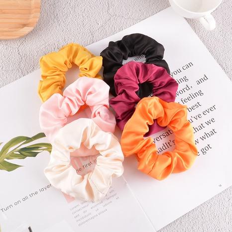Chouchous de cheveux de couleur unie en tissu satin simple coréen NHAQ310167's discount tags