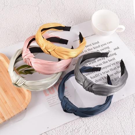 Koreas neues Stoffknoten-Stirnband NHAQ310168's discount tags