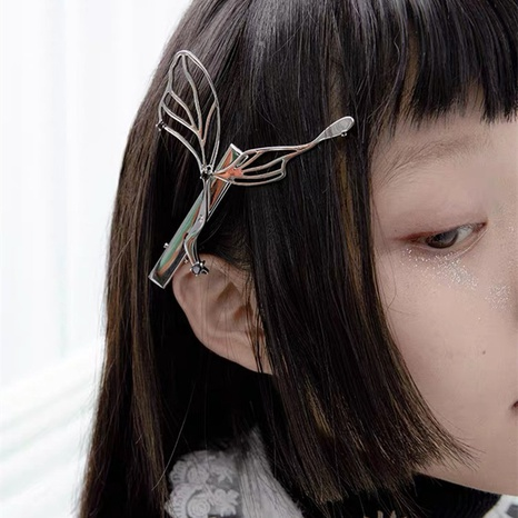 simple new butterfly hairpin NHYQ310226's discount tags