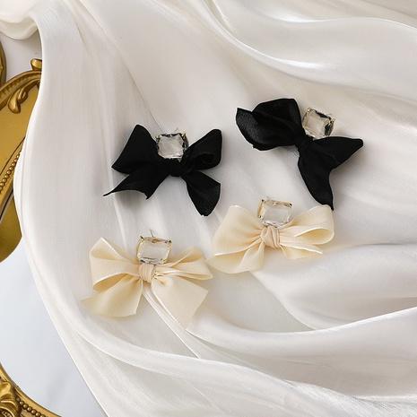 pendientes de lazo de piedras preciosas de moda NHMS310280's discount tags