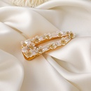 Korea sweet crystal shell flower hairpin  NHMS310282