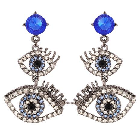 fashion eyelashes diamond earrings  NHJJ310307's discount tags