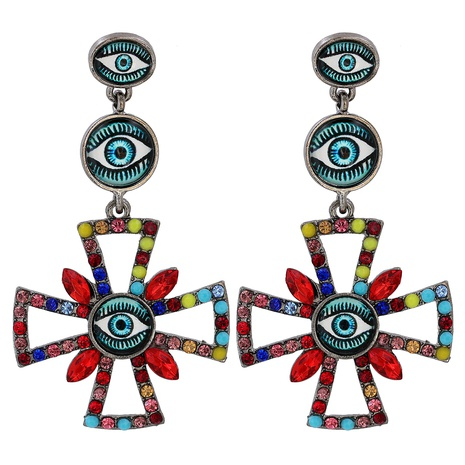 devil's eye fashion earrings wholesale NHJJ310309's discount tags