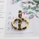 zircon simple python print earrings NHBP310499