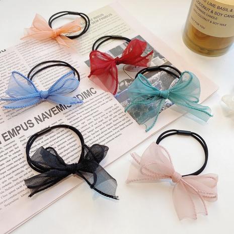 Anillo de pelo simple con lazo nuevo de Corea NHCQ309916's discount tags
