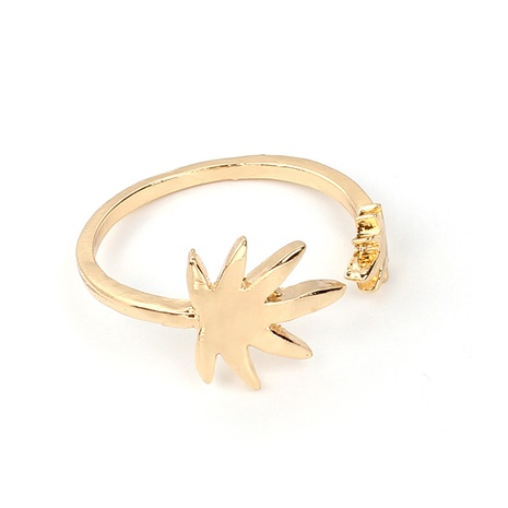 Coconut tree open ring NHRN309942's discount tags