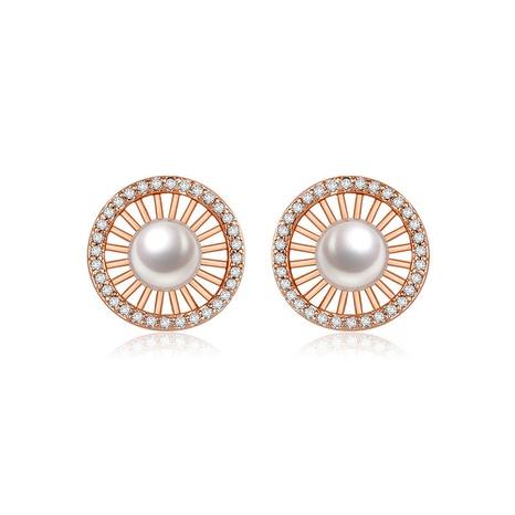 Mode einfache Perlenohrringe Großhandel NHTM309945's discount tags