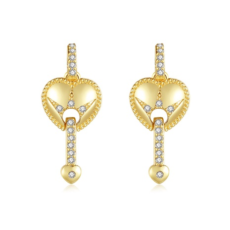 heart-shaped new fashion earrings NHTM310054's discount tags