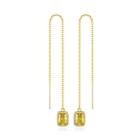 fashion diamond long ear line  NHTM310071's discount tags
