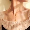 NHOK1416637-Golden-necklace-40cm