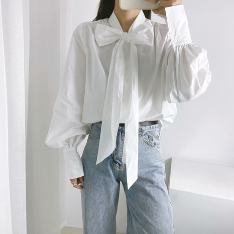 camisa suelta de primavera NHAM310712's discount tags