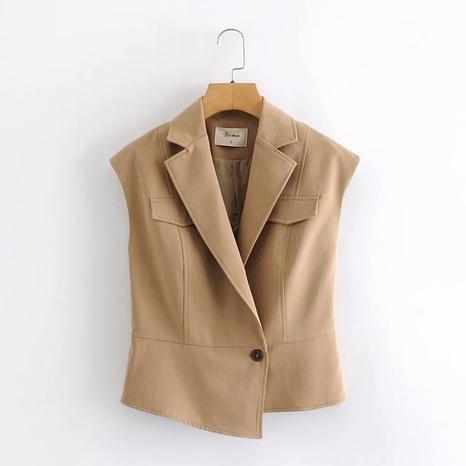 traje sin mangas simple nueva moda NHAM310729's discount tags
