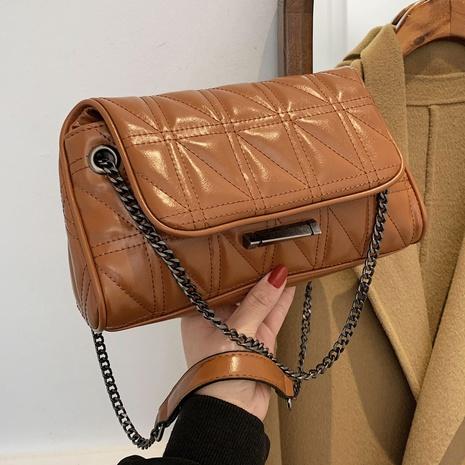 nuevo bolso cuadrado de cadena de rombos de moda NHLH310765's discount tags