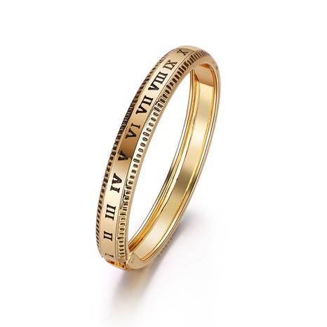 retro Roman numeral bracelet  NHBD310907's discount tags