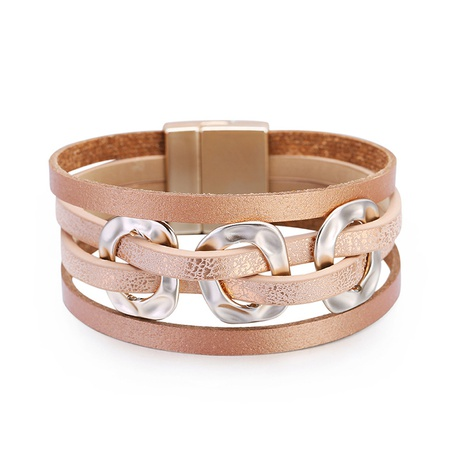 Bohemian Leather Bracelet  NHBD311033's discount tags