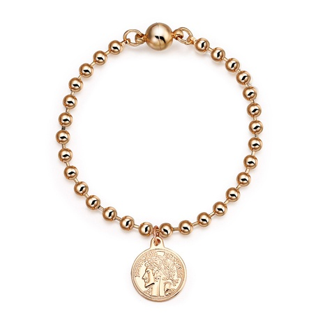 retro baroque tag beaded bracelet NHBD311052's discount tags