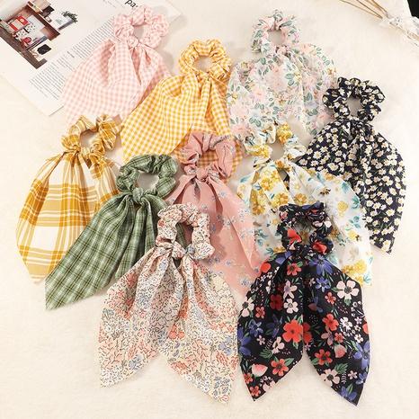 nouveaux chouchous coréens à fleurs NHAU311055's discount tags