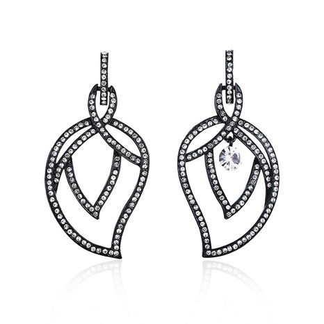 New Fashion Elegant Leaf Earrings NHBD311101's discount tags