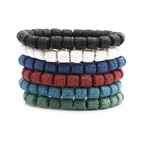 volcanic stone bracelet  NHYL311137's discount tags
