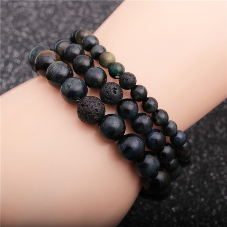 fashion volcanic stone bracelet  NHYL311147's discount tags