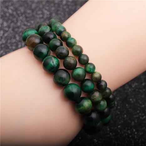 green beaded bracelet  NHYL311152's discount tags