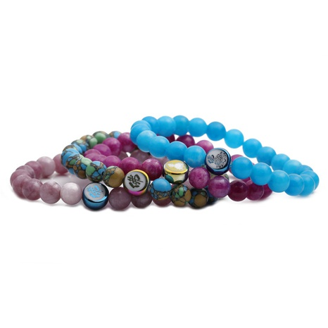 vintage agate stone bracelet  NHYL311169's discount tags