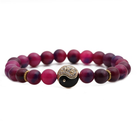 fashion agate stone bracelet  NHYL311170's discount tags