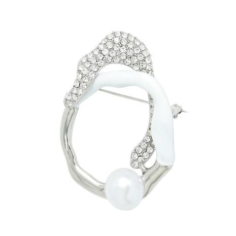 broche en diamant en alliage géométrique exagéré simple NHJQ311234's discount tags