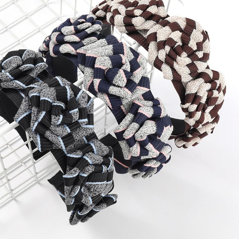 Korean fashion flower headband  NHJE311258