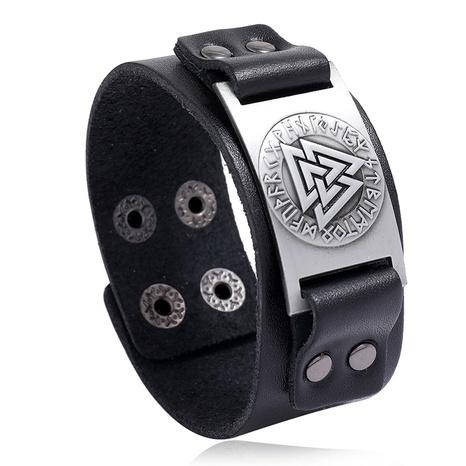 retro totem leather bracelet  NHPK311307's discount tags