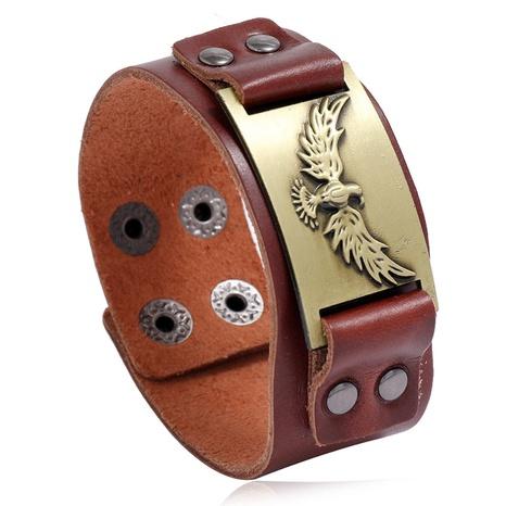 retro punk leather bracelet  NHPK311308's discount tags