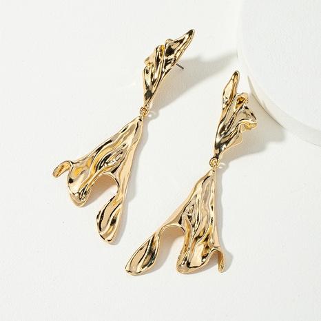 Boucles d'oreilles en métal de mode coréenne NHQJ311329's discount tags